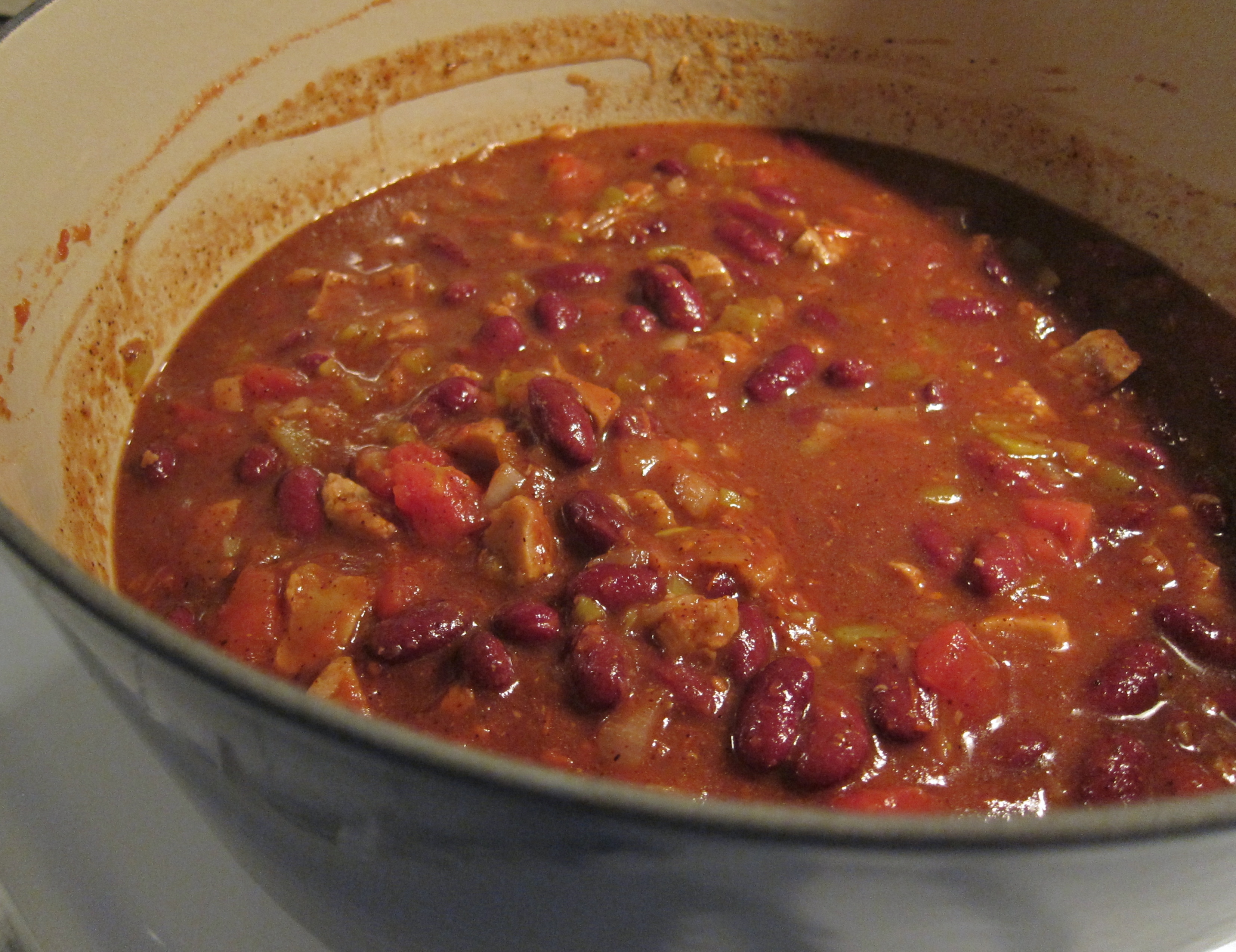 Hot Jerk-Spiced Red Bean Chili (2)..